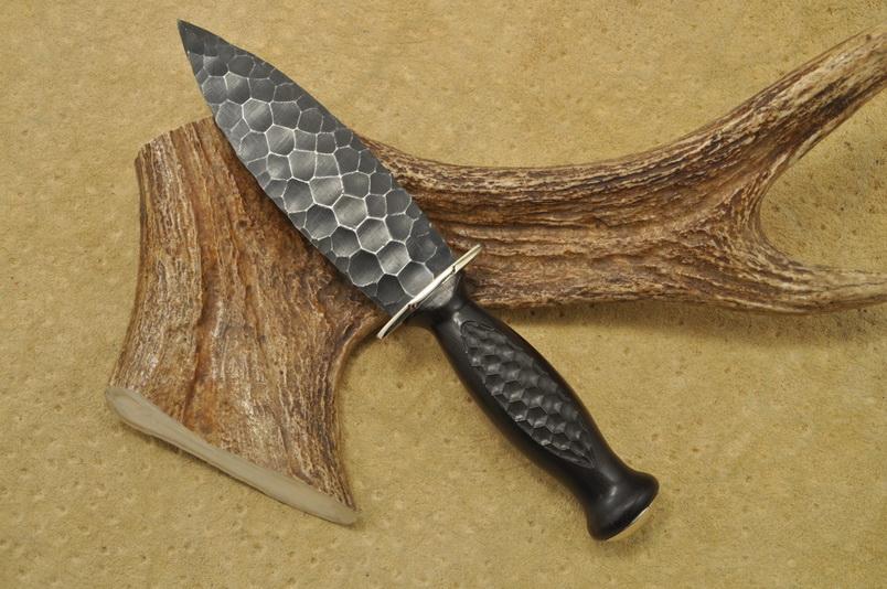 Каменный нож своими руками 84